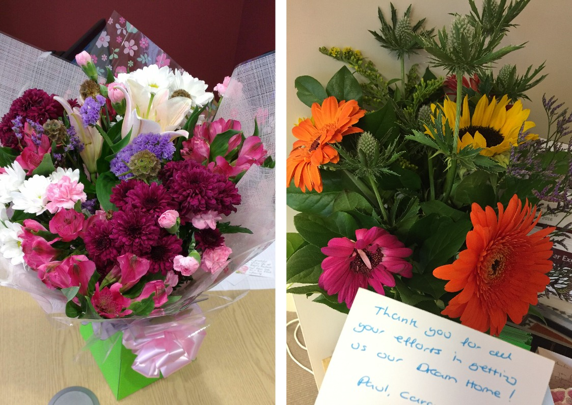 Some beautiful flowers and feedback cobb amos estate agents 03 nov some beautiful flowers and feedback izmirmasajfo